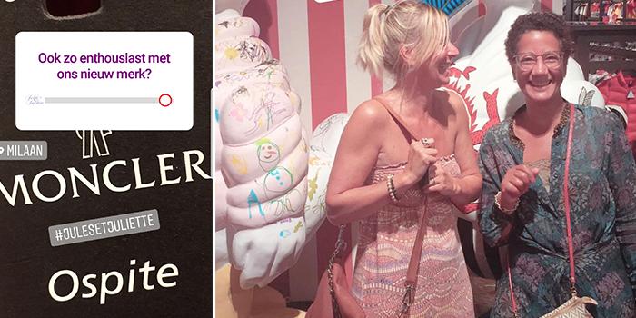 Jules & Juliette Knokke Babyspeciaalzaak Moncler