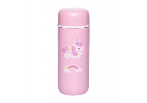 A Little Lovely Company A Little Lovely Company Insulated Stainless Steel Drink Bottle Unicorn