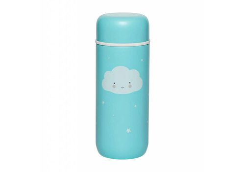 A Little Lovely Company A Little Lovely Company Insulated Stainless Steel Drink Bottle Cloud