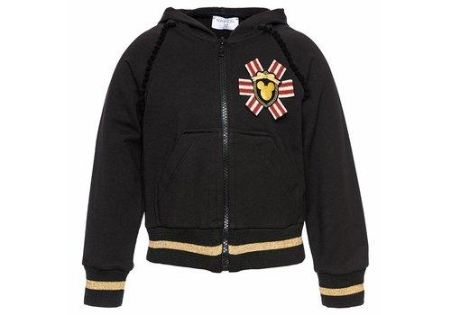 Monnalisa Monnalisa Jacket Zwart Mickey