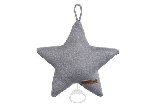 Baby's Only Baby's Only Music Box Star Sparkle Silver Grey