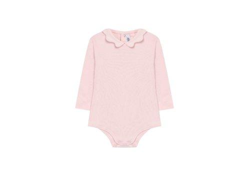 Aletta Aletta Body Vest Pink With Collar
