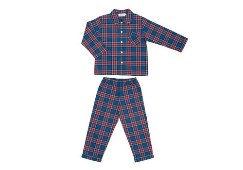 Cotolini Cotolini Pyjama Flanelle Mathieu Tartan Jeans