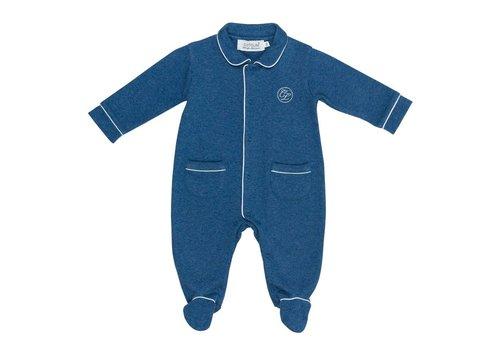 Cotolini Cotolini Baby Pyjama Theodore Jeans Blauw