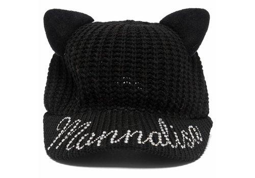 Monnalisa Monnalisa Muts Pet Zwart