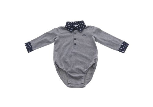 Natini Natini Body Shirt Paul Leaf Grey