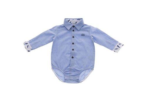Natini Natini Body Shirt Caspar Leaf Blue