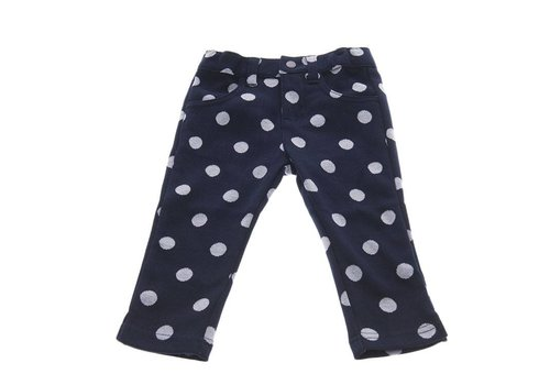 Natini Natini Broek Minny Spots Dark Blue