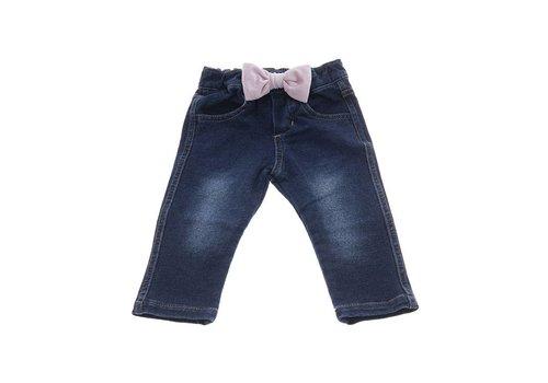 Natini Natini Jeans Bow Velvet Pink