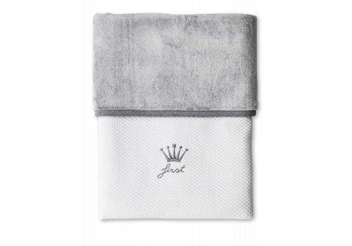 First First Blanket Lio 68 x 95 cm Grey - White