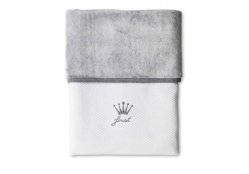 My First Collection First Blanket Lio 68 x 95 cm Grey - White