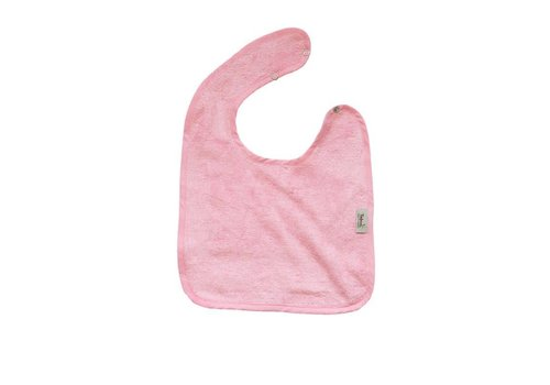 Timboo Timboo Bib Large 26 x 38 With Snap Buttons Pink