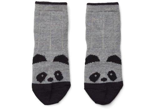 Liewood Liewood Wollen Sokken Panda Grey