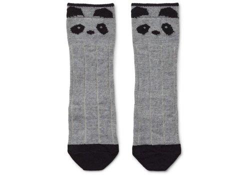 Liewood Liewood Wollen Kniekousen Panda Grey