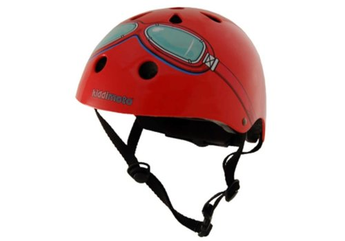 KiddiMoto Kiddimoto Helm Red Goggle
