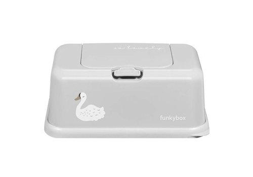 Funkybox Funkybox Vochtige Doekjes Houder Grey Swan