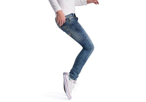 BOOF Boof Jeansbroek Slim Fit Mid Blauw