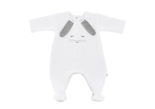 Theophile & Patachou Theophile & Patachou Baby All In One Bunny White