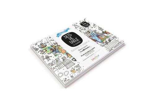 Label'tour Label'tour Placemats Colorize 24 Pieces Knights
