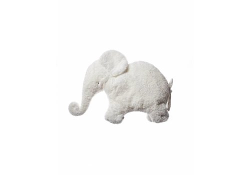 Dimpel Dimpel Knuffel Olifant Oscar Pillou Wit