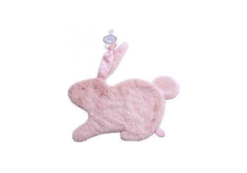 Dimpel Dimpel Cuddle Cloth Pacifier Rabbit Emma Tuttie Pink