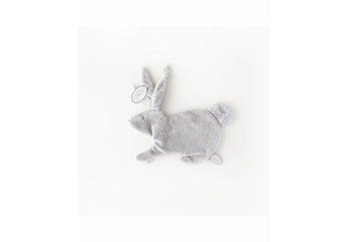 Dimpel Dimpel Cuddle Cloth Pacifier Rabbit Emma Tuttie Light Grey