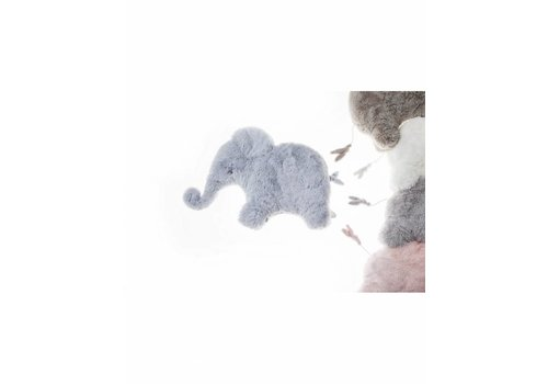 Dimpel Dimpel Musical Cuddly Toy Elephant Oscar Blue