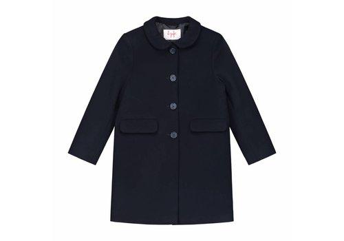Il Gufo Il Gufo Coat Navy Blue