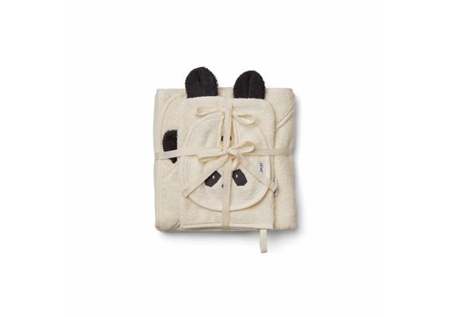 Liewood Liewood Kids Gift Set - Bib - Wash Cloth - Hooded Towel Panda