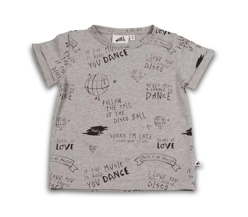 Cos I Said So T-Shirt Allover Print Follow The Call Of The Disco Ball