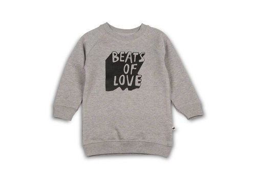 Cos I Said So Cos I Said So Sweater Dress Heather Grey Beats Of Love