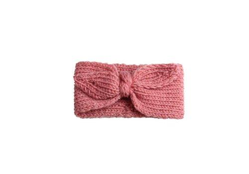 Cos I Said So Cos I Said So Haarband Crochet Bow Roze