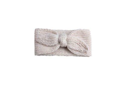 Cos I Said So Cos I Said So Haarband Crochet Bow Off White