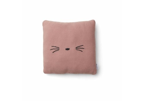 Liewood Liewood Knitted Cushion Cat Rose