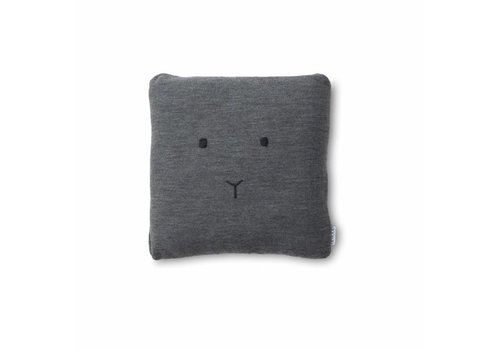 Liewood Liewood Knitted Cushion Rabbit Grey Melange