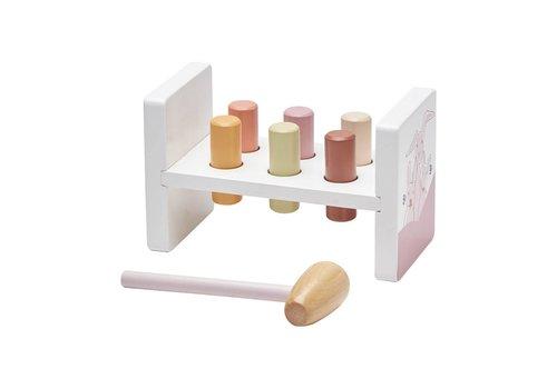 Kids Concept Kids Concept Hammer Bench Edvin Pink