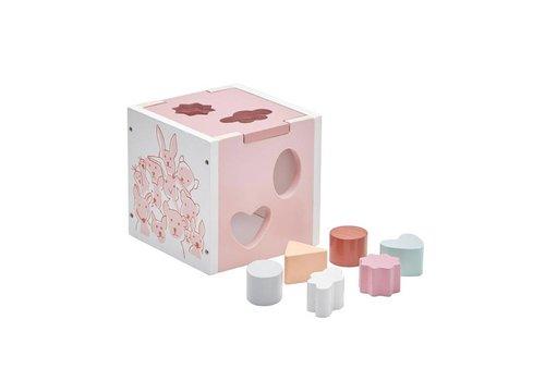 Kids Concept Kids Concept Shape Sorter Edvin Pink