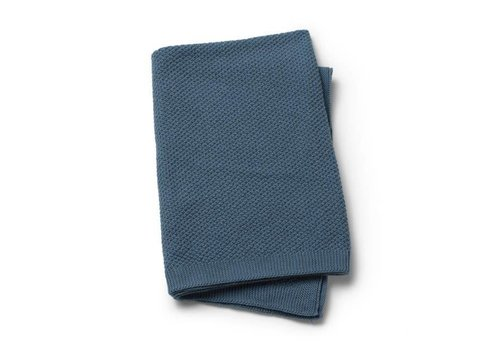 Elodie details Elodie Details Knitted Blanket Tender Blue