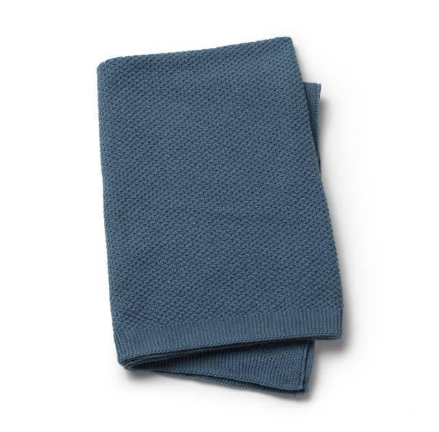 c93b0bf12af Elodie Details Knitted Blanket Tender Blue