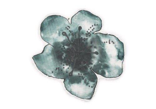 Elodie details Elodie Details Hydrofiele Doek Bloom Petrol