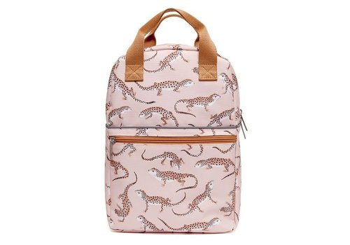 Petit  Monkey Petit Monkey Backpack Leopard Gecko