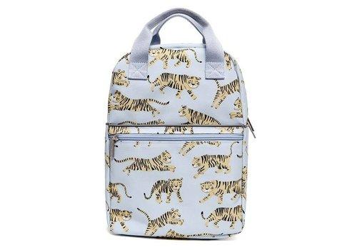 Petit  Monkey Petit Monkey Backpack Tigers Grey