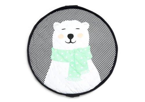 Play&Go Play & Go Opbergzak - Speelmat Soft Polar Bear