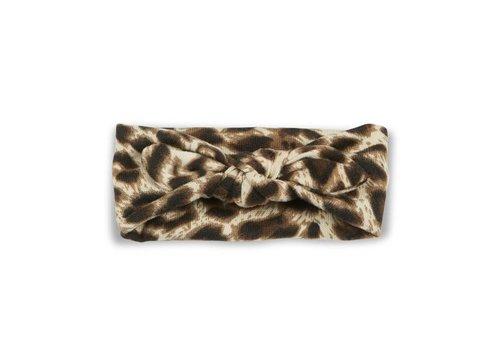 Cos I Said So Cos I Said So Headband Crochet Bow Leopard