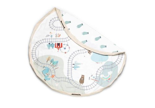 Play&Go Play & Go Opbergzak Trainmap - Bears Toy
