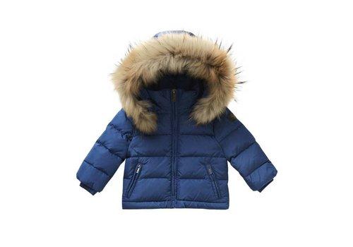 Il Gufo Il Gufo Coat Winter Denim Blue