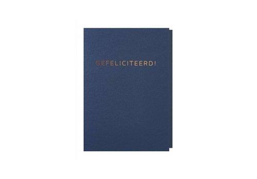 Papette Papette Wenskaart Gefeliciteerd + Envelop
