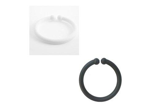 BIBS BIBS Pacifier Clip LOOPS Mix Black - White