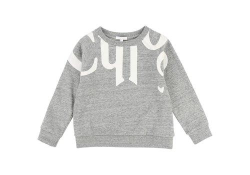 Chloe Chloe Sweater Gemeleerd Grijs