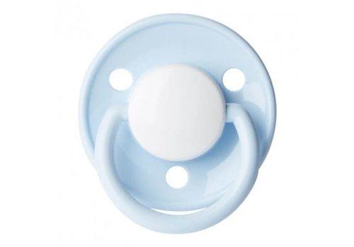 BIBS BIBS Pacifier Silicone De Luxe Baby Blue 6 - 18M